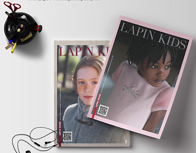 LAPIN HOUSE Catalogue Design / Kids Fashion