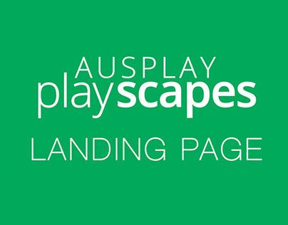 Ausplay Landing Page