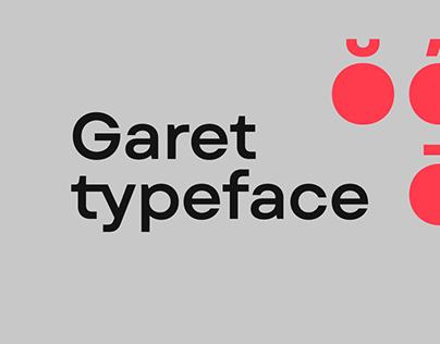 Garet Typeface