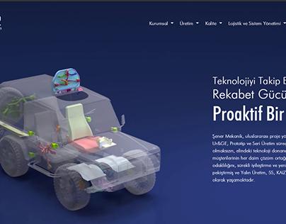 Weeb Group & Şener Mekanik Web Page