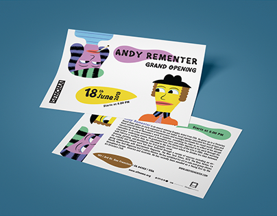Flyer Andy Rementer