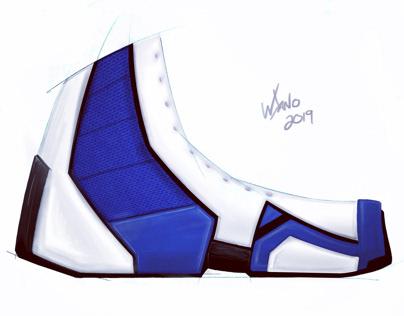 Sneaker concept sketch