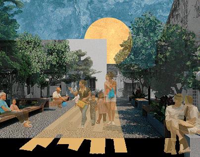 Colagem Digital de Projeto Urbano