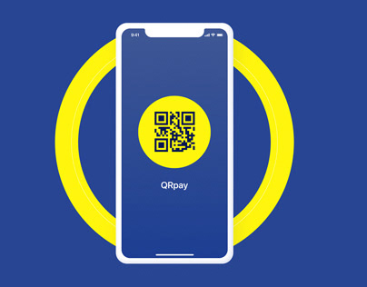 Payment application via QR code