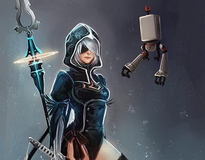 2B - Assassin's Creed Sisterhood