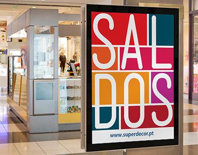 Superdecor's summer sale campaign