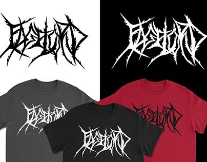 Edge Lord - Metal Logo