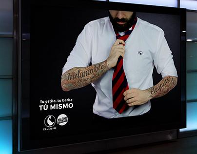 El Ganso & Macho Beard Company - Advertising