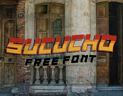 Sucucho Free Font