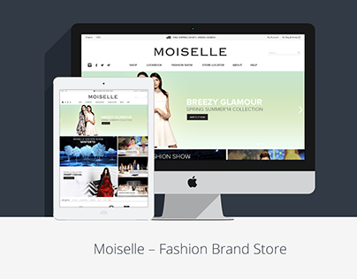 Moiselle Fashion Store on Big Commerce