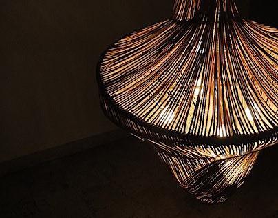 LUSTRE :: sculptural pendant lamp