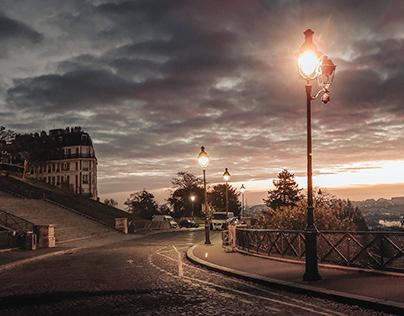 Xiaomi ⏤ Montmartre sunrise