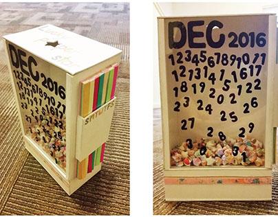 Calendar Design • Counting Stars