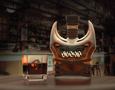 SKÄRA - Whiskey Bottle Design Concept
