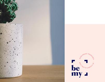 Be my - Branding + UX/UI