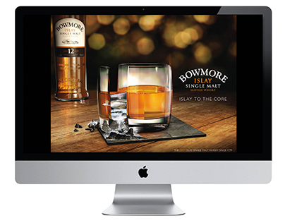 Bowmore - Repositioning and Website.