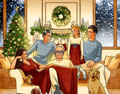 ANDREA BOCELLI'S FAMILY