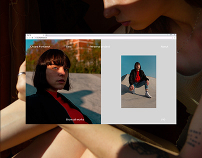 Chiara Fontanot — web portfolio
