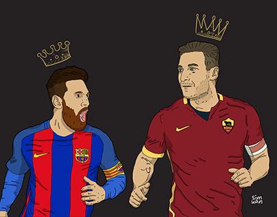 AS Roma players