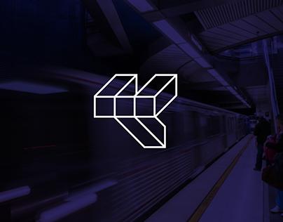 MetroNapoli brand - subway