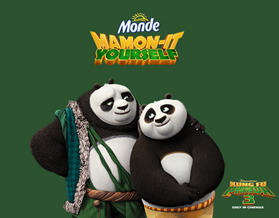Monde Nissin Kung Fu Panda 3 Responsive Website