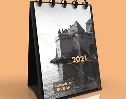 2021 Riviera Vaudoise Calendar