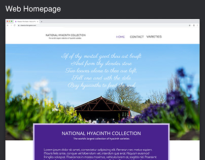 National Hyacinth Collection