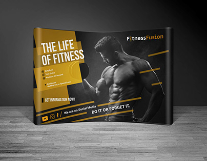 FitnessFusion | Booth Design