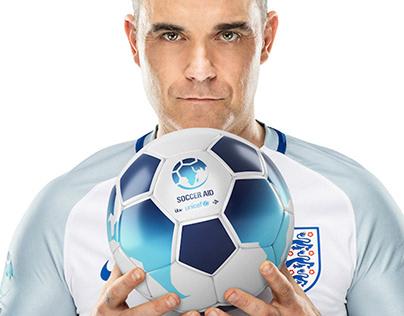 Soccer Aid Rebrand