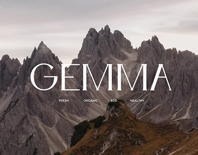 GEMMA / Packaging / Branding / Naming / Guideline