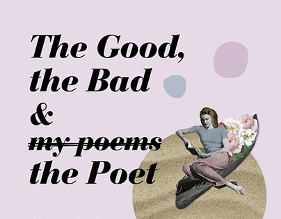 Cover book - The Good, the bad & the Poet