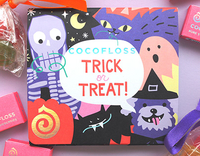 Cocofloss Halloween Packaging