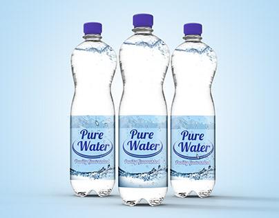 Label Design Water Bottle