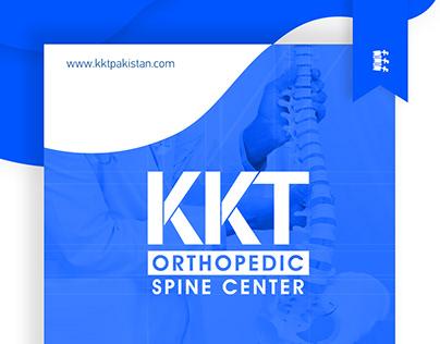 KKT Orthopedic Spine Center Branding