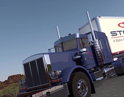 Semi Truck Interactive Display