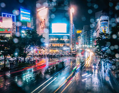 Shibuya Rainy Nights