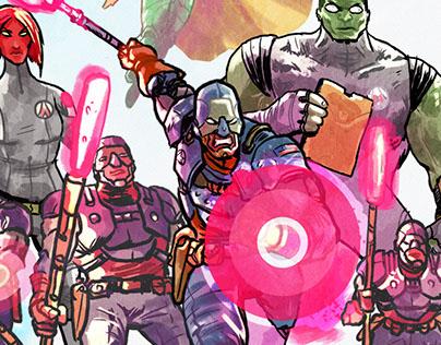 Avengers - Redesign