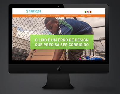 Site - TriCiclos - WordPress