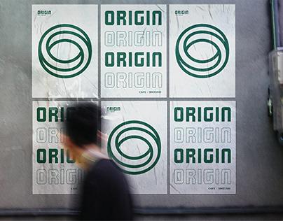 ORIGIN CAFE Branding