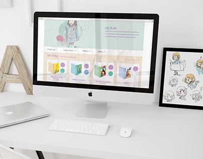Kidibook - Website