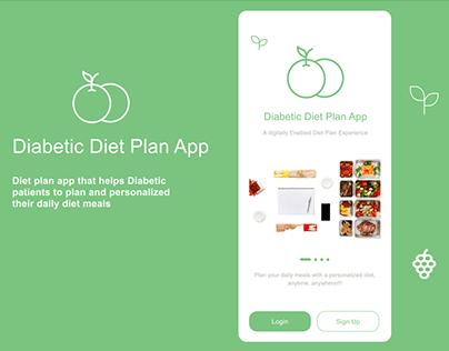 Diabetic Diet Plan App