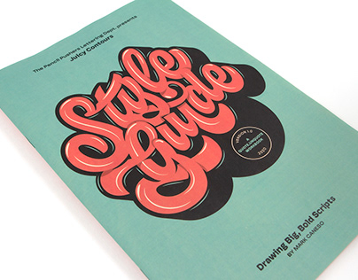 Style Guide - CommArts 2021 Typography Winner