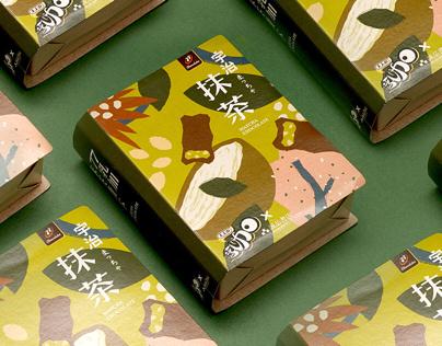 大人的乳加|抹茶巧克力包裝設計