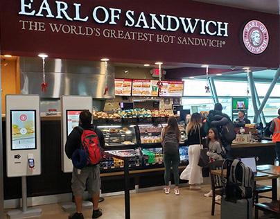 Earl of Sandwich Menu Boards