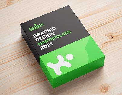 Shiny E-Learning platform Brand Identity Design