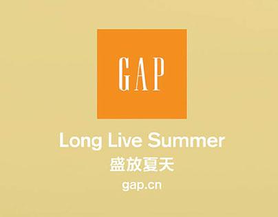 GAP - 2016 Summer Campaign
