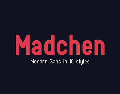 Madchen Sans - modern font (+ FREE DEMO)