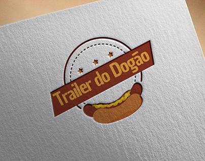 Logo - Trailer do Dogão