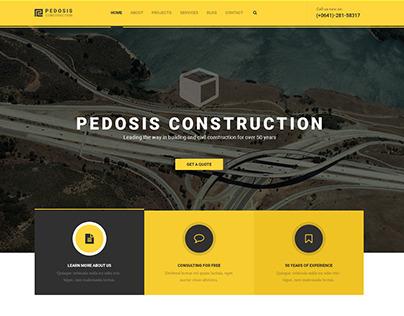 Pedosis HTML template