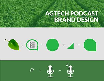 Brand Design for Agtech Podcast